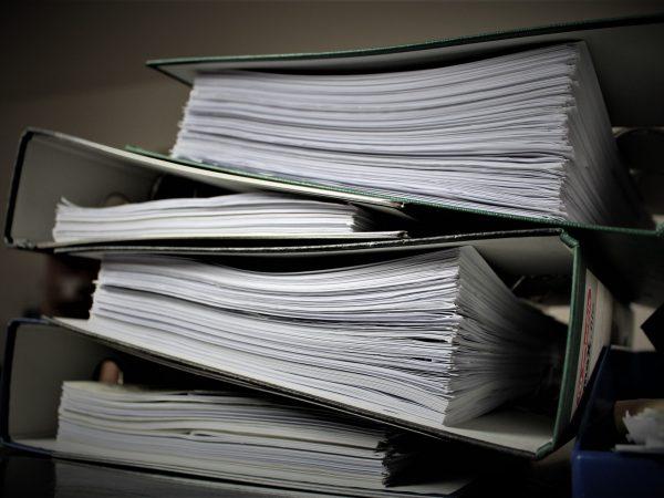 trituracion de documentos de archivo muerto